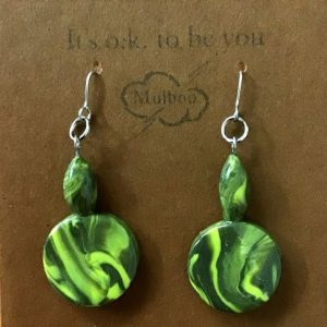 Handmade clay Earrings – Frankie