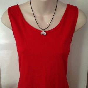Ladies cotton singlets - various colours