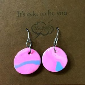 Handmade clay Earrings – Luna