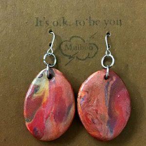 Handmade clay Earrings – Martha
