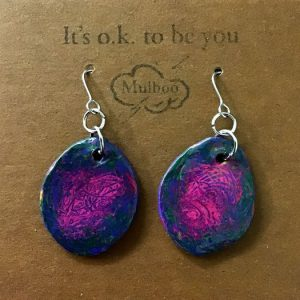 Handmade clay Earrings – Tempest